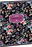 Ученическа тетрадка - Tropical Night : Формат А4 с широки редове - 40 листа - тетрадка