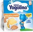 Nestle Yogolino - Млечен десерт бисквита - Опаковка от 4 х 100 g за бебета над 6 месеца -