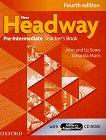 New Headway - Pre-Intermediate (A2 - B1): Книга за учителя по английски език + CD-ROM : Fourth Edition - John Soars, Liz Soars, Amanda Maris -