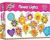 Направи си сама -  Лампички с цветя - Творчески комплект -