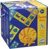Домино - Животни - Детска игра с едри елементи -