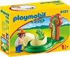 """Изследователка и яйце на динозавър - Мини фигури от серията """"Playmobil: 1.2.3"""" -"""