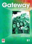 Gateway - Intermediate (B1): Учебна тетрадка по английски език за 9. клас Second Edition - таблица