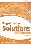 Solutions - ниво B1: Учебна тетрадка по английски език за 9. клас - част 1 : Bulgaria Edition - Tim Falla, Paul A. Davies, Paul Kelly, Helen Wendholt, Sylvia Wheeldon -