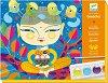 Оцветявай с гваш бои - Индия - Творчески комплект -