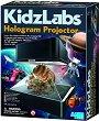 """Холограмен проектор - Детски образователен комплект от серията """"Kidz Labs"""" -"""