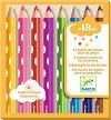Цветни моливи - Комплект от 8 цвята -