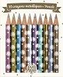 """Цветни моливи - Комплект от 10 цвята от серията """"Love Paper"""" -"""