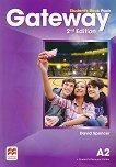 Gateway - Pre-Intermediate (А2): Учебник по английски език + онлайн ресурси Second Edition - учебник