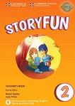 Storyfun - ниво 2: Книга за учителя по английски език : Second Edition - Karen Saxby, Lucy Frino -