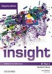 Insight - ниво B1: Учебник по английски език за 9. клас - част 2 : Bulgaria Edition - Jayne Wildman, Jane Hudson -