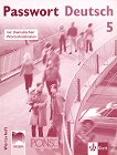 Passwort Deutsch 5: Тетрадка-речник по немски език за 12. клас - Мария Хофман-Дартевеле -