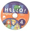 Hello!: CD 2 с аудиоматериали по английски език за 4. клас - New Edition - Емилия Колева, Елка Ставрева - книга за учителя
