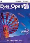 Eyes Open - ниво 4 (B1+): Учебна тетрадка по английски език - Vicki Anderson, Eoin Higgins -