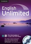 English Unlimited - Pre-intermediate (B1): Комплект по английски език Combo A - част 1 + 2 DVD-ROM - Alex Tilbury, Theresa Clementson, Leslie Anne Hendra, David Rea, Maggie Baigent, Chris Cavey, Nick Robinson -