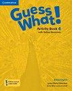 Guess What! - ниво 4: Учебна тетрадка по английски език - Lynne Marie Robertson -