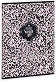Ученическа тетрадка - Pink Ghost : Формат А4 с широки редове - 40 листа -