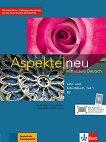 Aspekte Neu - ниво B2: Комплект от учебник и учебна тетрадка - част 1 + CD -