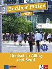 Berliner Platz Neu - ниво 4 (B2): Комплект от учебник и учебна тетрадка по немски език + 2 CD - Eva Harst, Susan Kaufmann, Anna Pilaski, Margret Rodi, Lutz Rohrmann, Ralf Sonntag -