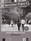 Berliner Platz Neu - ниво 4 (B2): Помагало по немски език - помагало