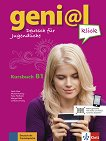 geni@l klick - ниво 3 (B1): Учебник по немски език + 2 CD - учебна тетрадка