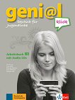 geni@l klick - ниво 3 (B1): Учебна тетрадка по немски език + 2 CD - учебна тетрадка