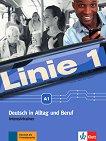 Linie - ниво 1 (A1): Тетрадка с упражнения по немски език - учебник