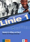 Linie - ниво 1 (A1): Помагало с тестове по немски език - Kirsten Althaus, Hildegard Meister -