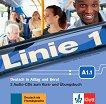 Linie - ниво 1 (A1.1): 2 CD с аудиоматериали по немски език - учебник