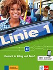 Linie - ниво 1 (A2): Комплект от учебник и учебна тетрадка по немски език + DVD-ROM - учебник