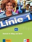 Linie - ниво 1 (A2.1): Комплект от учебник и учебна тетрадка по немски език + DVD-ROM - помагало