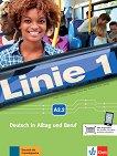 Linie - ниво 1 (A2.2): Комплект от учебник и учебна тетрадка по немски език + DVD-ROM - помагало