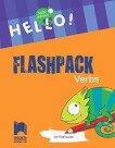 "Hello! Комплект от 24 флашкарти ""Глаголи"" за 4. клас - New Edition -"
