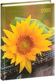 Lady Timer - Sonnenblume: Календар - бележник 2020 - 11.00 x 15.3 cm -