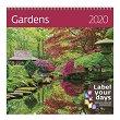 Стенен календар - Gardens 2020 -