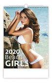 Стенен календар - Beach Girls 2020 - календар