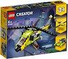 """Приключение с хеликоптер - 3 в 1 - Детски конструктор от серията """"LEGO Creator"""" -"""