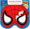 Маски за оцветяване - Анимационни герои - детска книга