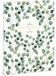 Папка с ластик - Botanic Leaf - Формат A4 -