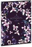 Ученическа тетрадка - Botanic Orchid : Формат А4 с широки редове - 40 листа -