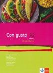Con Gusto para Bulgaria - ниво A2: Учебник по испански език за 11. клас - учебна тетрадка