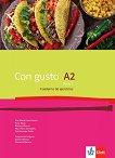 Con Gusto para Bulgaria - ниво A2: Учебна тетрадка по испански език за 11. клас + CD -
