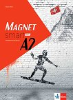 Magnet Smart - ниво A2: Учебна тетрадка по немски език за 11. клас + CD - Giorgio Motta - помагало