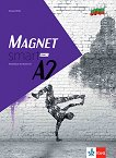 Magnet Smart - ниво A2: Учебна тетрадка по немски език за 12. клас + CD - Giorgio Motta - помагало