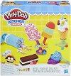 """Направи сам - Сладоледи - Творчески комплект с моделин от серията """"Play-Doh: Kitchen"""" -"""