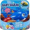 """Плуваща татко акула - Детска играчка със звукови ефекти от серията """"Baby Shark"""" -"""