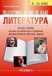 Подготовка за НВО по литература за 10. клас - Елинка Щерионова - учебна тетрадка