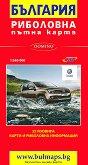 Риболовна пътна карта на България - M 1:540 000 - карта