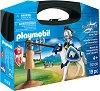 """Рицари - Детски конструктор в куфарче от серията """"Playmobil: Knigts"""" -"""