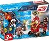 """Стартов комплект - Рицарски дуел - Детски конструктор от серията """"Playmobil: Novelmore"""" -"""